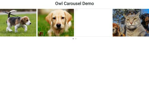 Owl Carousel 2 - autoplay/loop Demo